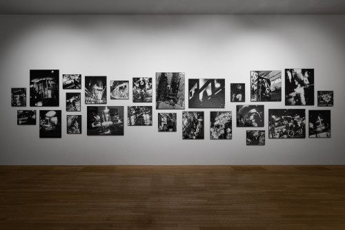 "Takehiko Nakafuji, ""Nightcrawler"" (1995), ""Hong Kong"" (1994), ""Tokyo"" (2019)."