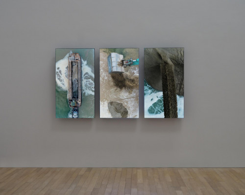 """Exhibition view: Charles Lim, """"They Do Not Understand Each Other""""."""