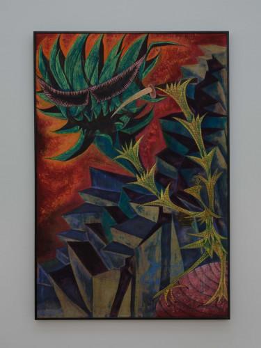 芥川( 間所 )紗織,《源自神話「 眾神的誕生 」》,1956年。