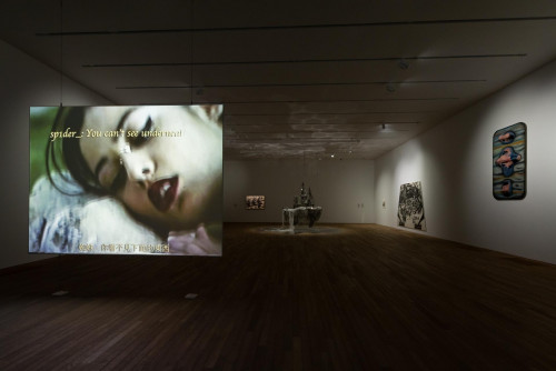 Exhibition view: Phantom Plane, Cyberpunk In The Year Of the Future.