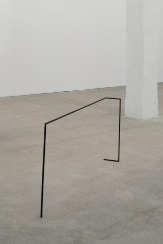 "Thea Djordjadze, ""Trying to balance on one hand, do not forget the center"" (2010)."