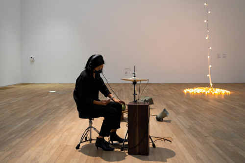 Tarek Atoui, Whisperers, 2021