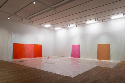 "Pamela Rosenkranz, ""Sexual Power (The Viagra Paintings)"" (2018 and 2019)."