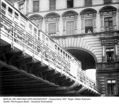 《柏林:城市交響曲》(1927)導演:Walter Ruttmann  來源:柏林電影博物館